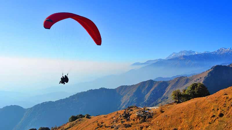 Paragliding & Camping in Himachal